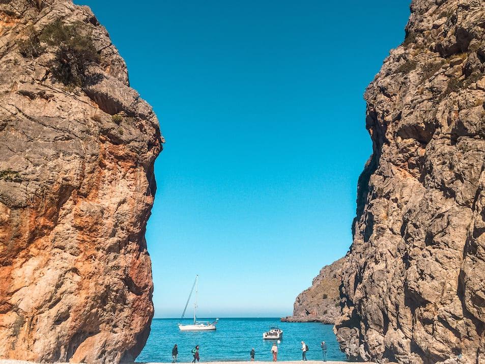 Cala de Sa Calobra - Traumstrand im Nordwesten von Mallorca