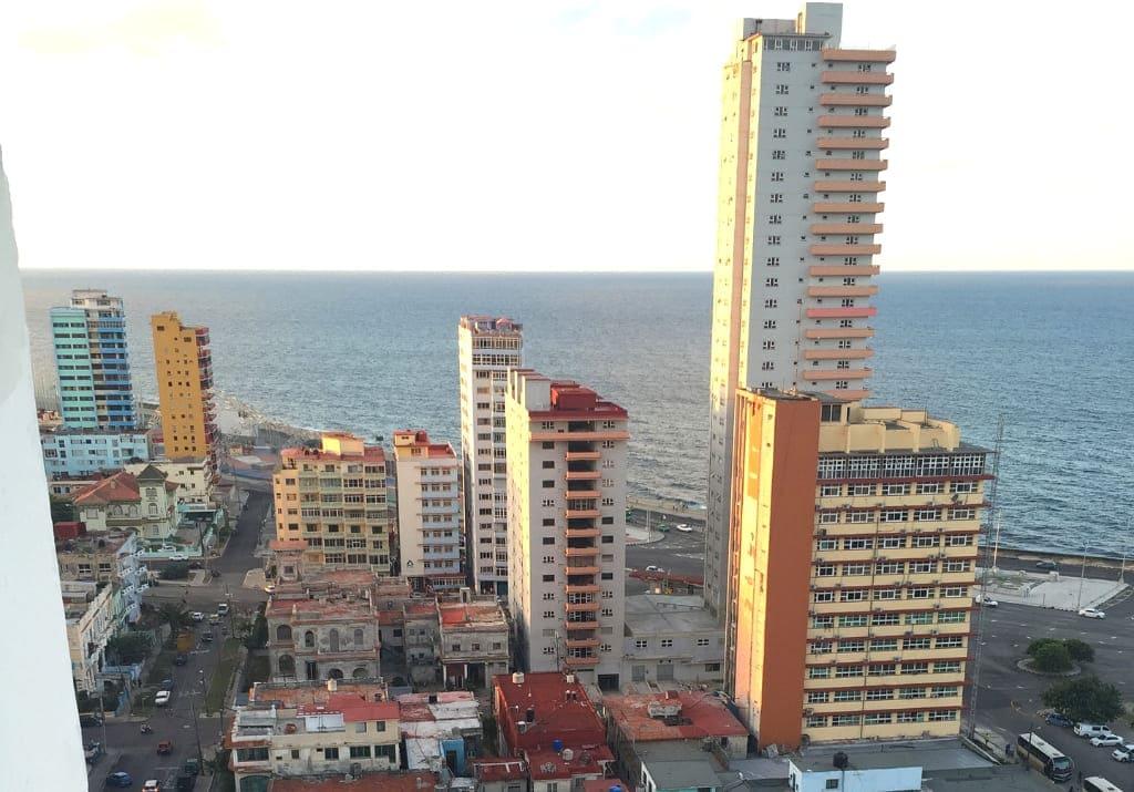 Havanna von oben Sonnenuntergang