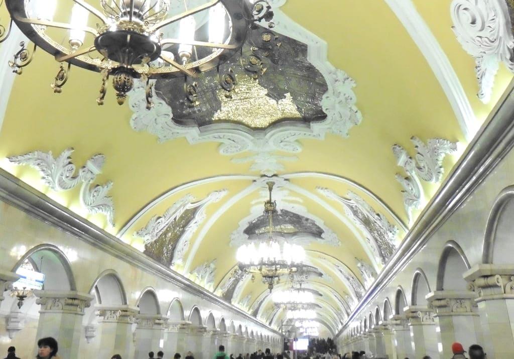 Moskau Metro Station Komsomolskaja