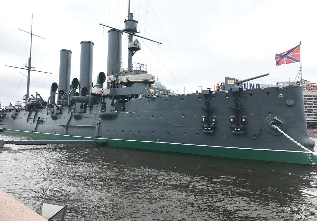 Sankt Petersburg Kriegsschiff Aurora