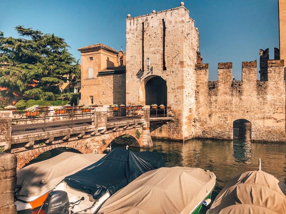Castello Scaligero Scaligerburg Italien Gardasee