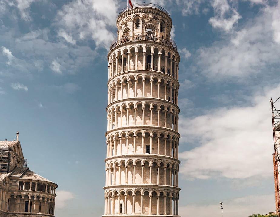 Roadtrip Norditalien Toskana Pisa schiefer Turm Italien
