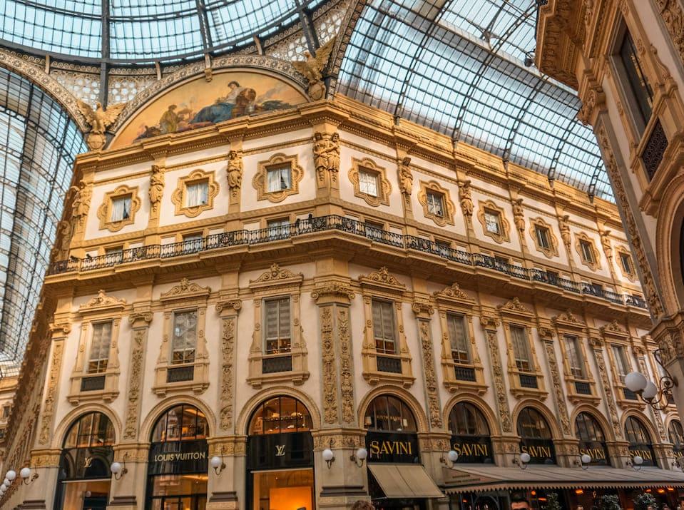 Italien Reiseblog Reisebericht Milano Galleria Vittorio Emanuele II