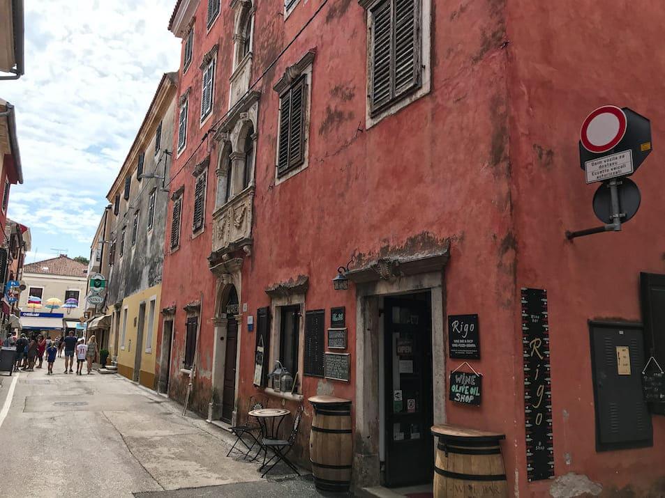 Novigrad Reisebericht Highlights Sehenswürdigkeiten Straßen