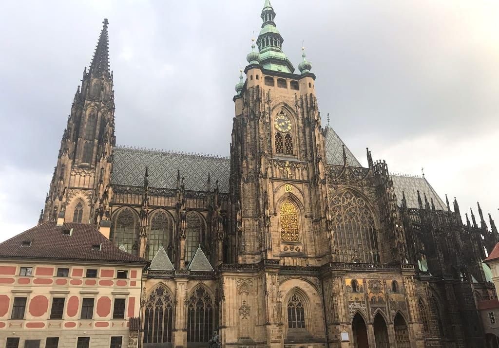 Prag historische Route Prager Burg Golden Lane Veitsdom