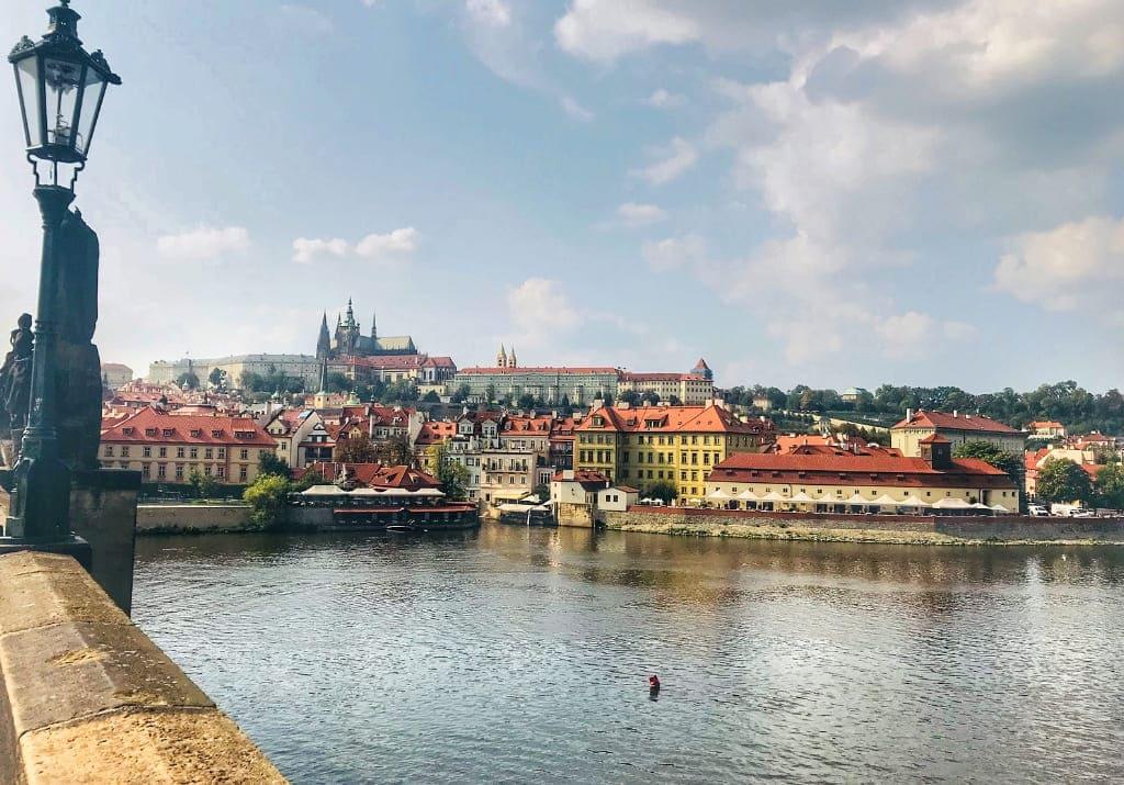 Prag historische Route Prager Burg