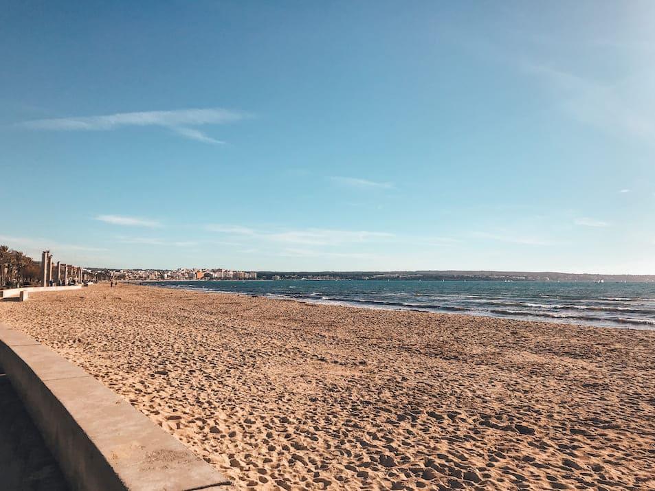 Mallorca im Winter - Strände Temperaturen Januar Februar März Hotel Playa del Palma Can Pastilla