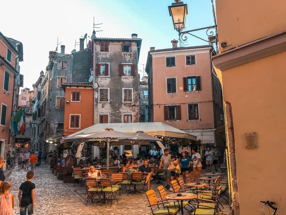 Restaurants Rovinj Sehenswürdigkeiten Reisetipps Istrien Urlaub Reisen Altstadt