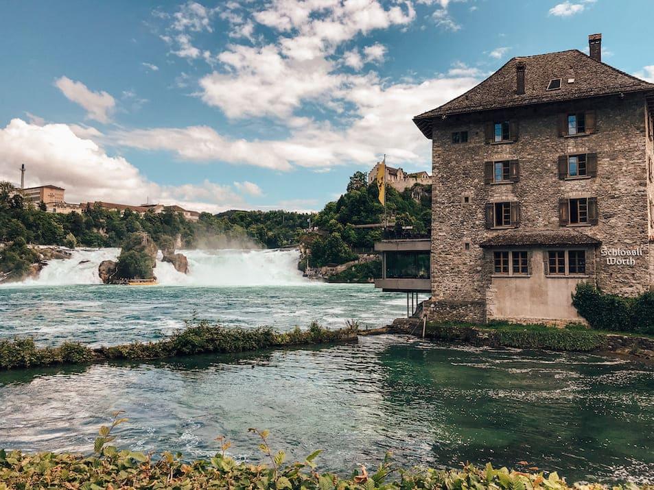 Rheinfall Ausflug Reisetipps Restaurants