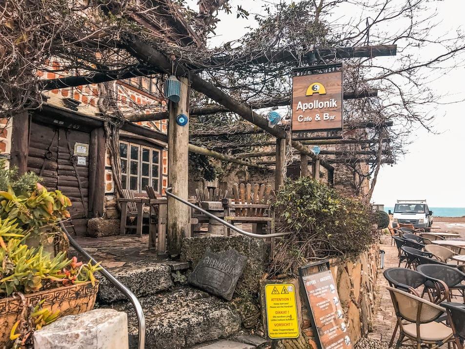 Antalya Side Reisetipps Winter Belek Sehenswürdigkeiten Hafen Side Apollonik älteste Bar